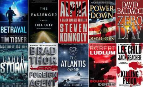 10 EBOOK CONTEST- Win 10 Thrillers/Conspiracy Kindle EBOOKS